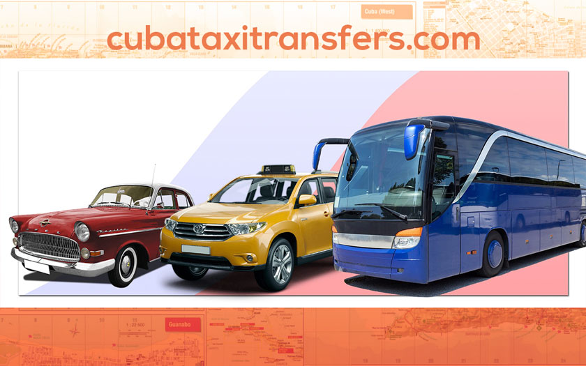Book your taxi, cab rides, coach transfers around Cuba with CubaTaxiTransfers.com
